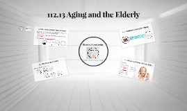 112.13 Aging and the Elderly