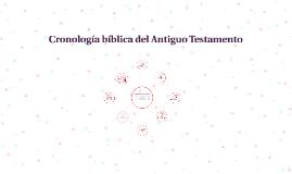 Cronología bíblica del Antiguo Testamento