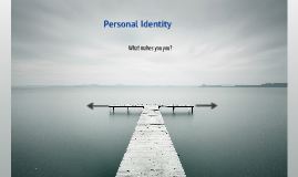 Copy of Personal Identity