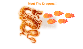 Meet The Dragons !