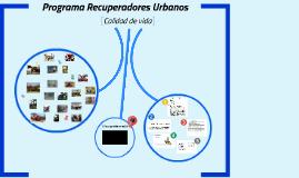 Programa Recuperadores Urbanos