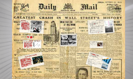 Copy of Stock Market Crash 1929