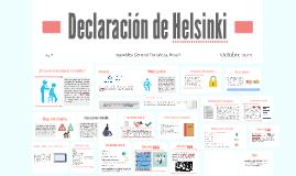 Copy of Declaración de Helsinki