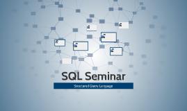 SQL Seminar