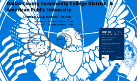 DCCCD & American Public University