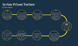 Syrian Prison Torture