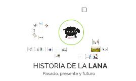 HISTORIA DE LA LANA