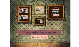 Communication Domains