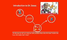 Introduction to Dr. Seuss