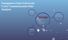 Youngstown State University Crisis Communication Plan Analys