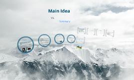 Copy of Main idea vs summary