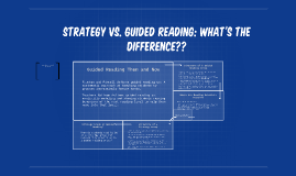 Strategy vs. Guided Reading: What's the difference??