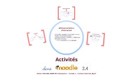 Activités dans Moodle