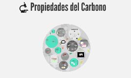 Copy of Propiedades del Carbono