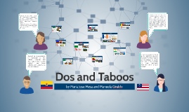 Dos and Taboos