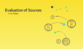 Evaluation of Sources