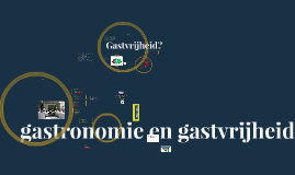 Lessen Restauranttechniek 2012-2013