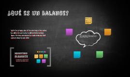 ¿Qué es un Balance?