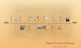 Copy of Vägen till andra världskriget