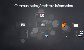 Communicating Academic Information