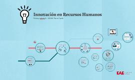Innovación en Recursos Humanos