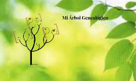 Mi Arbol Genealógico
