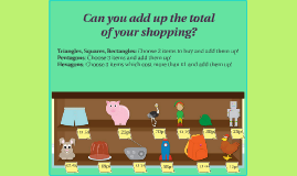 Can you add up the total of your shopping?