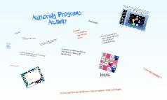 Auth programs activity