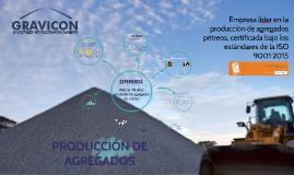 PRODUCCIÓN DE AGREGADOS