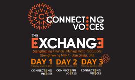 2014-06 Connecting Voices MENA Exchange - Plenary & PFM