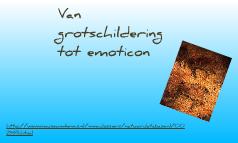Van grotschildering tot emoticon