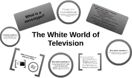 Whiteness in Television