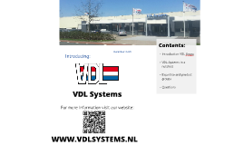 Introducing VDL Systems FZ2016