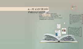 6.- EL CONTRATO PSICOANALÌTICO