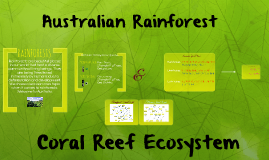 Copy of Copy of Copy of Australian Rainforest and Coral Reef Ecosystem