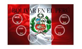 Bolivar en el Perú