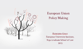 European Union Policy Making