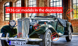 1936 car models in the depresion
