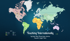International Teaching Career