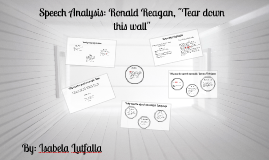"Speech Analysis: Ronald Reagan, ""Tear down this wall"""