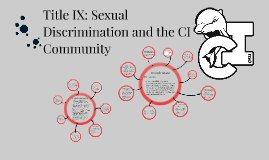 Sexual Discrimination and Violence - Faculty