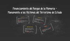 Parque de la Memoria - Monumento a las Víctimas del Terroris