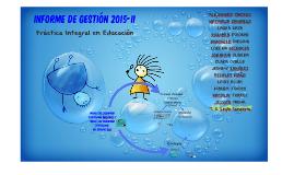 informe de gestión 2015-II