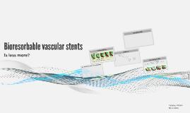 Bioresorbable vascular stents