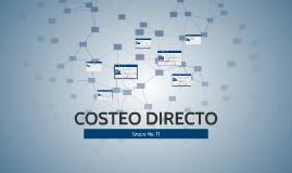 COSTEO DIRECTO
