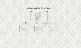 in search of the good family