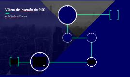Vídeos de inserção do PICC