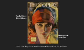 Copy of Media History Digital Library- Fan Magazine Collection
