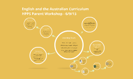 English and the Australian Curriculum