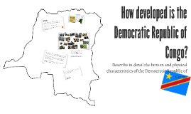 2. How developed is the Democratic Republic of Congo?